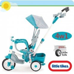 LT Rowerek Perfect Fit 4w1 Trike teal.